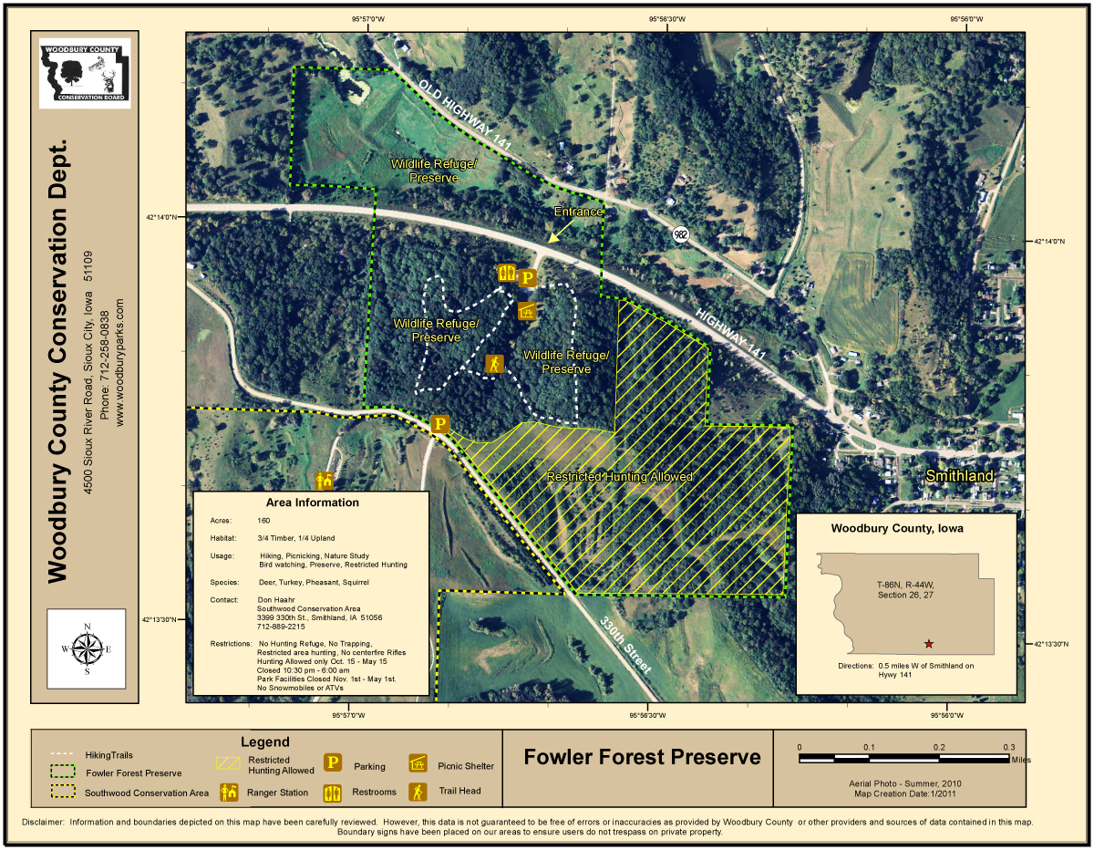 FowlerForestWebsiteMap2011