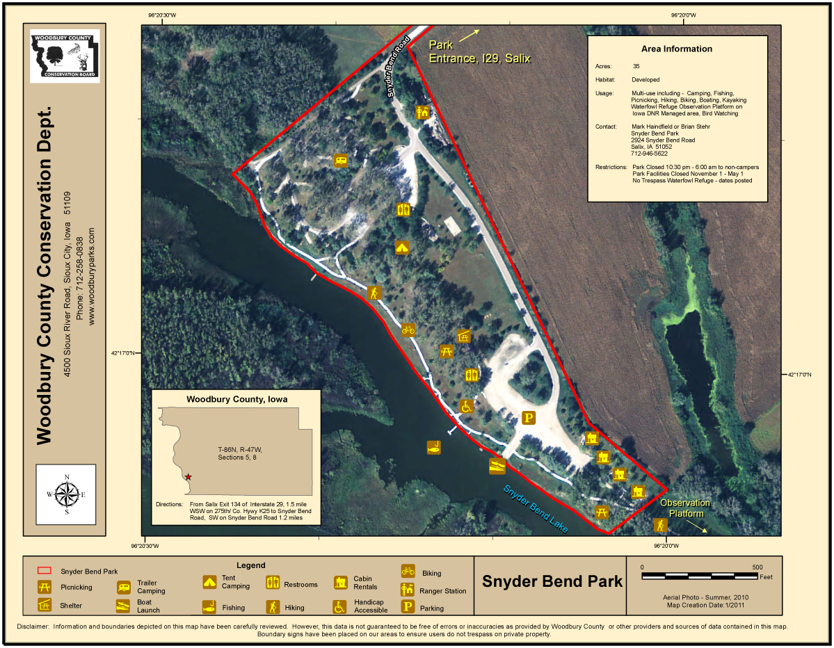 SnyderBendParkWebsiteMap2011